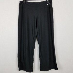 Nike Fit Dry Black Crop Loose Fit Yoga Pants